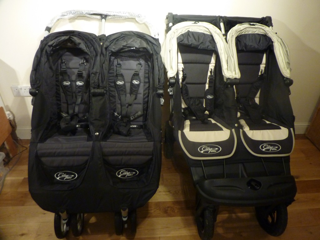 Baby Jogger City Mini Double vs Elite Review by Theresa ...