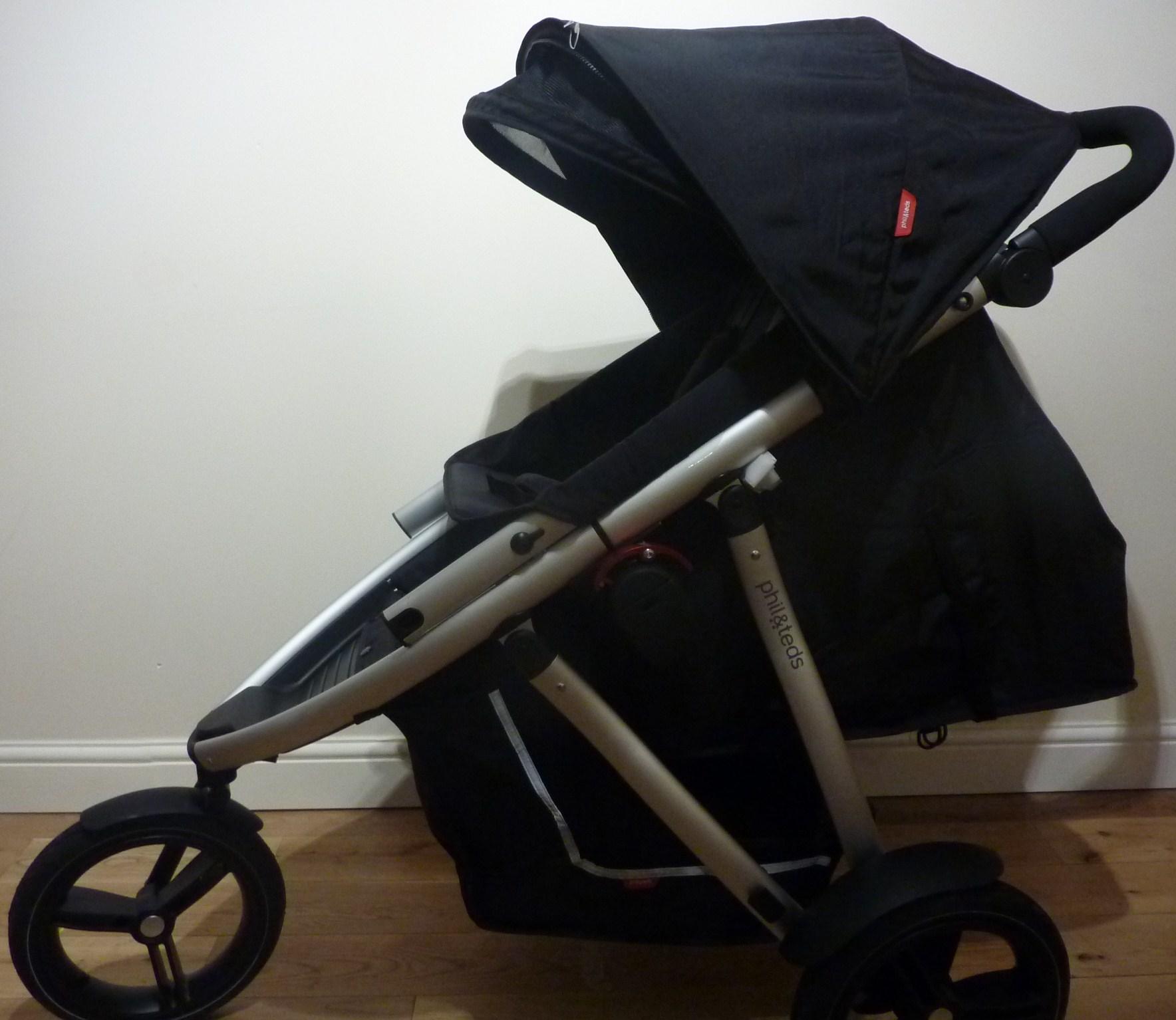 phil teds vibe 2 set up in newborn toddler mode best buggy. Black Bedroom Furniture Sets. Home Design Ideas