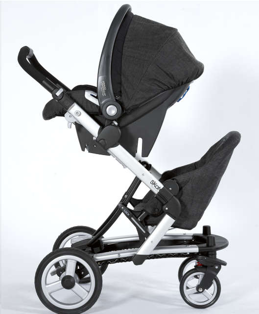 Mamas Amp Papas Skate With Junior Seat Best Buggy