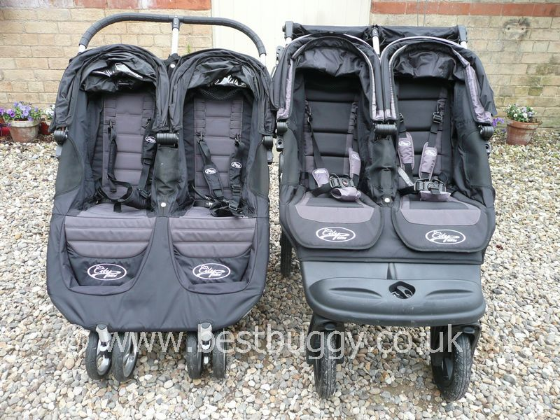 Baby Jogger City Mini Double 2011 V S Baby Jogger City Elite Double