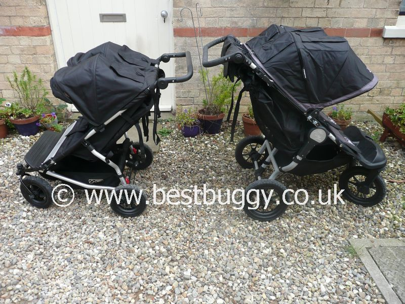Mountain Buggy Duet V S Baby Jogger City Elite Double