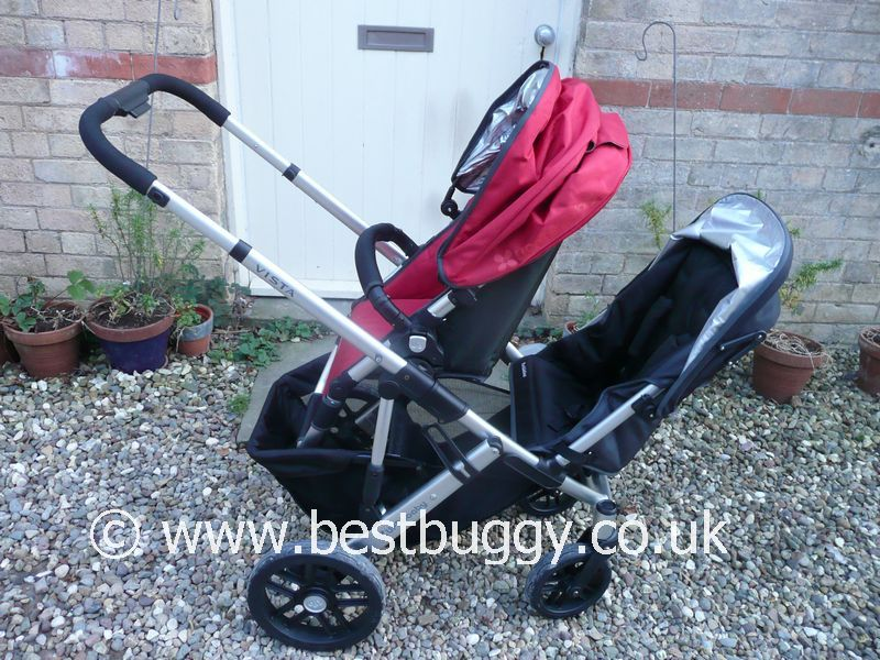 Uppababy Vista Stroller With Rumble Seat Best Buggy