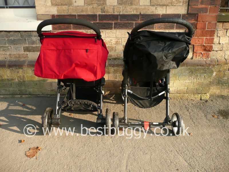 Britax B Agile V S Baby Jogger City Mini 4 Best Buggy