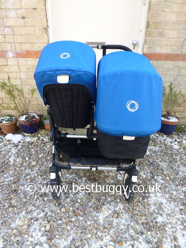 Tandem rear view & Bugaboo Donkey | Best Buggy