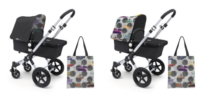 Bugaboo Andy Warhol 2014 Accessory Packs Sun Canopy