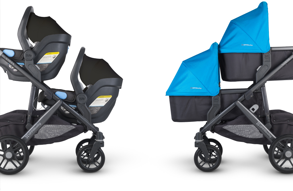 Uppababy Vista With Rumble Seat 2015