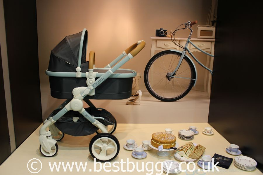 Icandy apple black magic special edition carry cot & pushchair.