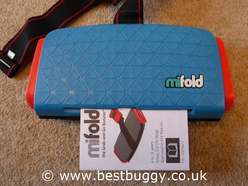 Mifold The Grab And Go Booster Cushion Best Buggy
