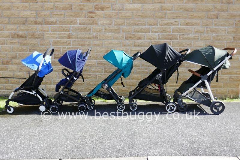 Babyzen Yoyo V S Gb Qbit V S Baby Jogger City Tour V