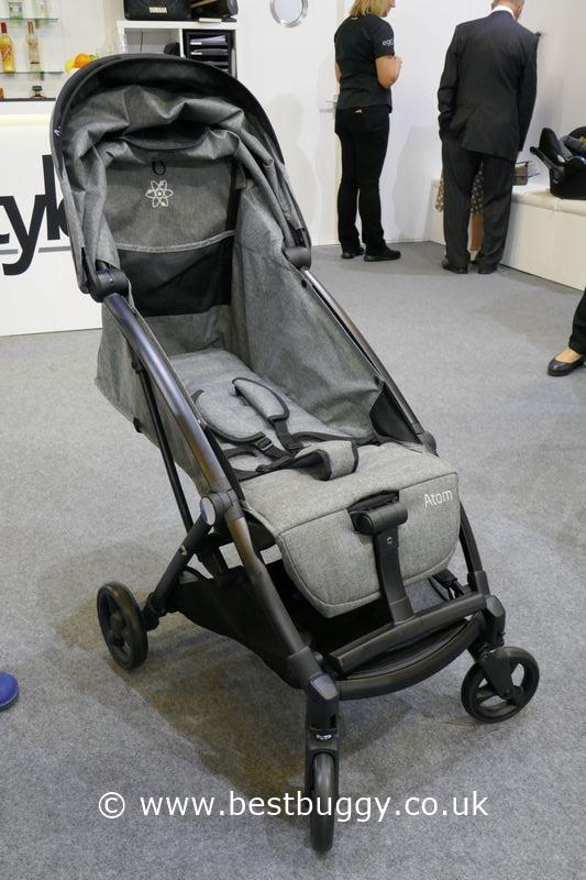 babystyle atom at the harrogate nursery fair 2017 best buggy. Black Bedroom Furniture Sets. Home Design Ideas