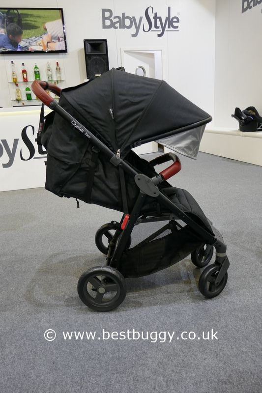 the babystyle oyster zero at the harrogate nursery fair. Black Bedroom Furniture Sets. Home Design Ideas