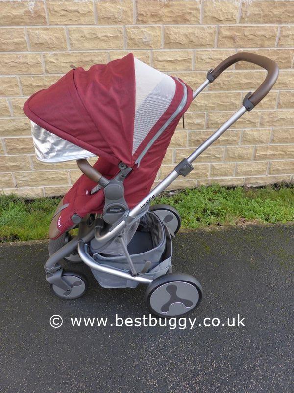babystyle hybrid edge and tandem best buggy. Black Bedroom Furniture Sets. Home Design Ideas
