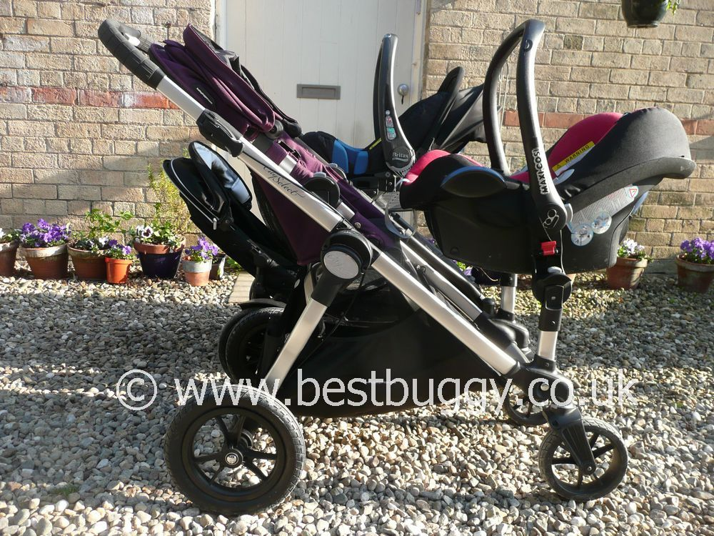 Britax B Dual 2011 V S Baby Jogger City Select Best Buggy