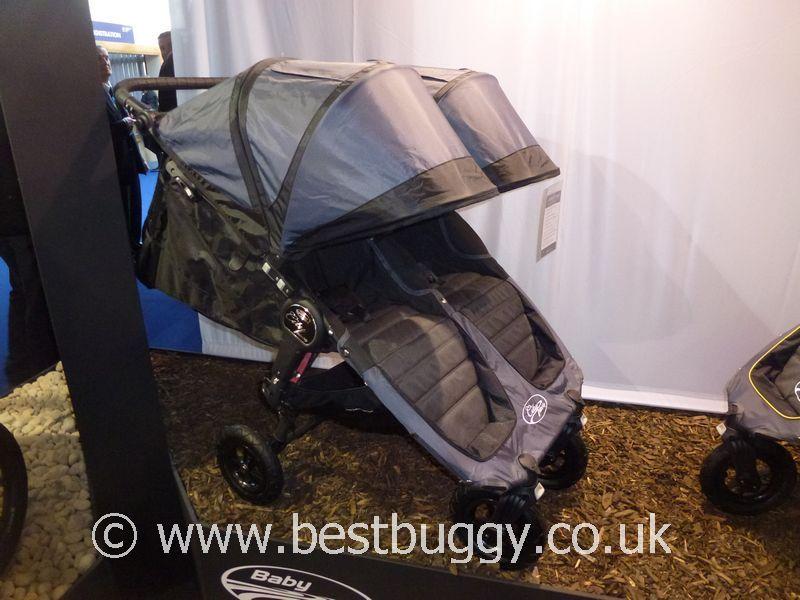Baby Jogger City Mini Gt Double At Harrogate Nursery Fair