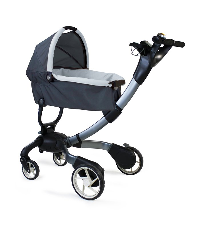 Shop 4Moms Origami Stroller in Black - Overstock - 7652740 | 800x700
