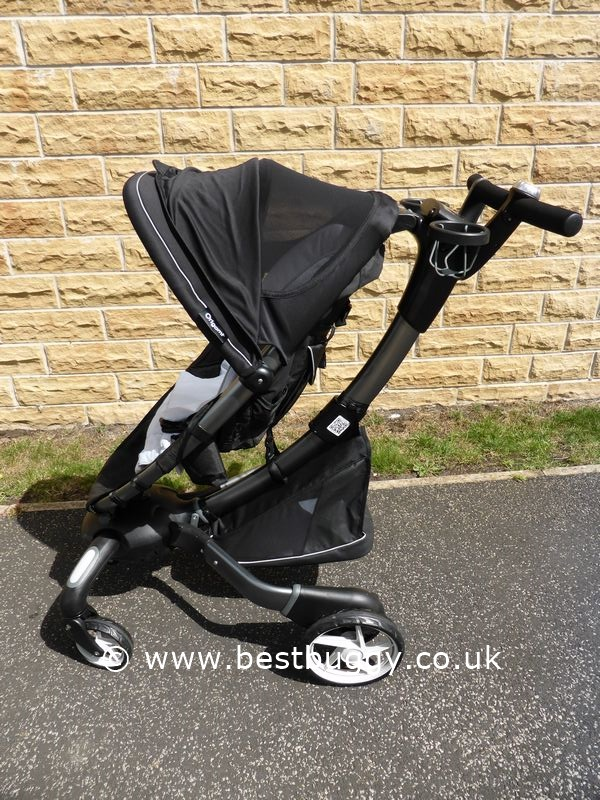 Hands On With The 4Moms Origami Stroller - YouTube | 800x600